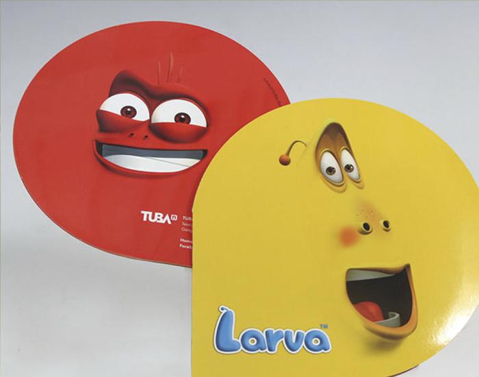 라바 애니메이션 홍보 브로슈어